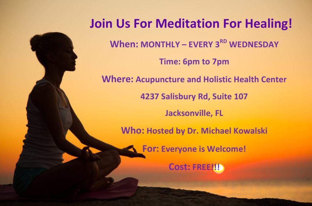 Meditation For Healing - Free Workshop