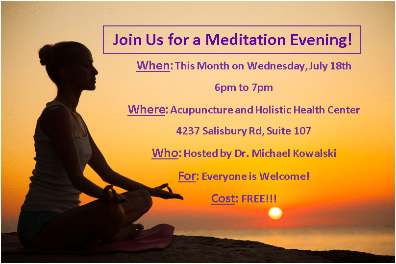 Meditation For Healing 7-18-18, 6pm