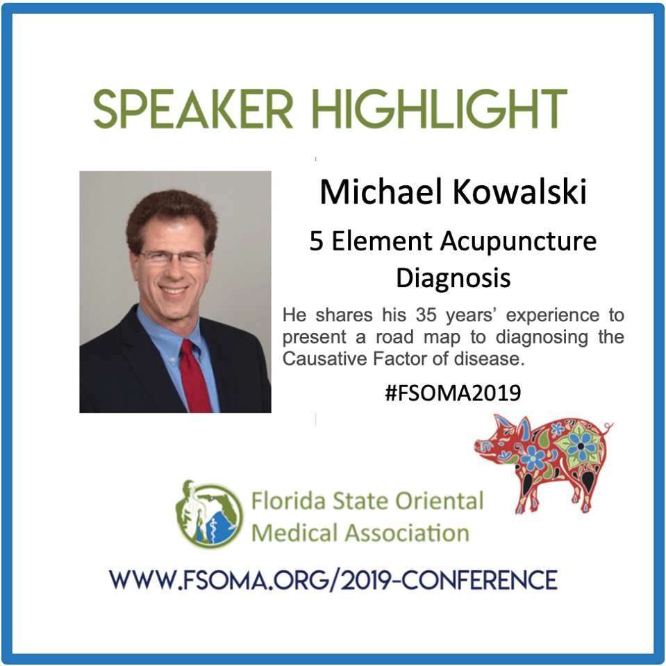 Dr. Michael to Present Lecture at FSOMA 2019 Conference