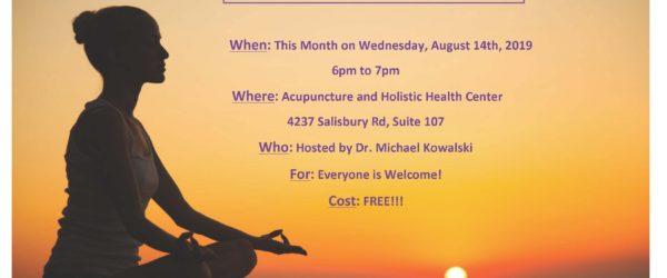 Meditation for Healing Session