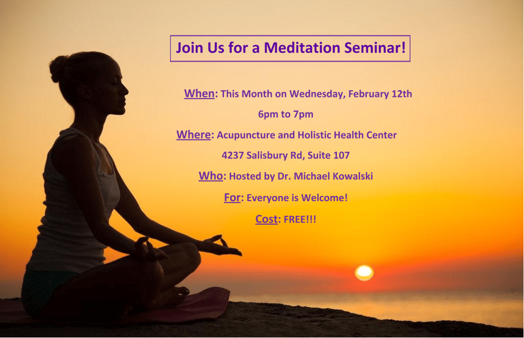02/12/20 Meditation Seminar