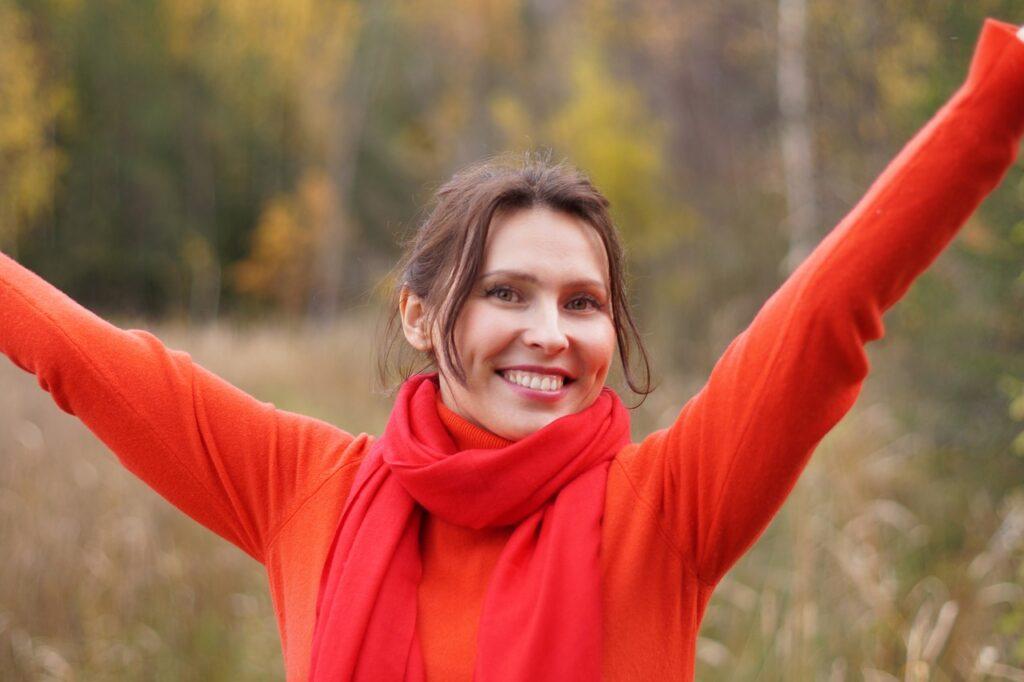 Optimistic Woman